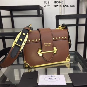 Wholesale Designer bag with nail high end small bag design unique personality full of hardware trend fashion handbag lady size cm