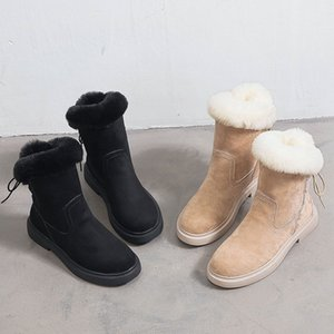 Wholesale 2019 Snow Winter Leather Women Australia Classic INS Knee Half Boots Ankle Boots Black White Chestnut Navy Womens Girl Shoes666610
