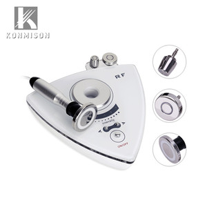 Wholesale 3 In RF Skin Rejuvenation Facial Machine For Body Shaping Face Lifting Eyes Bag Removal Portable Mini RF Machine For Home Use