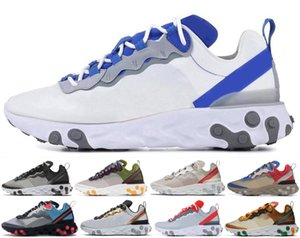 Wholesale 2020 Tour Yellow react element mens running shoes men women Orange Peel Sail triple black white Designer Seam trainers sports sneakers