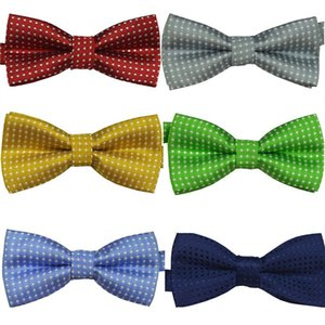 Hot Multi-Colors Chic Baby Boys Infant Toddler Pre Tied Party Wedding Tuxedo Bow Tie Necktie 2019