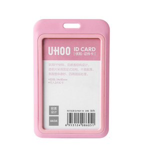 Wholesale name tag business for sale - Group buy Designer Cards ID Card Holder Business card holder Name Tag Staff Employee Business Badge Holder Office Company Supplies Stationery