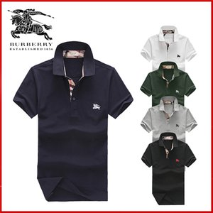 Wholesale 2019 autumn winter mens Designer Dress shirt men s Long Sleeve casual crocodile social shirts fashion USA Brand polo shirts hombres