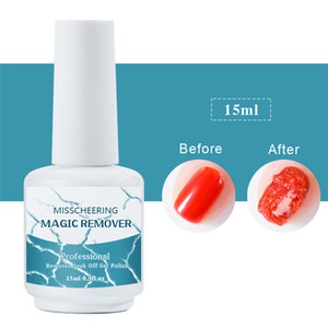8ml 15ml Nail UV Gel Polish Burst Magic Remove Gel Liquid Surface Layer Nail Art Acrylic Clean Degreaser For nails