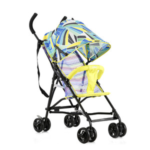 Wholesale Baby buggy light folding simple portable go out super light can take summer breathable cart