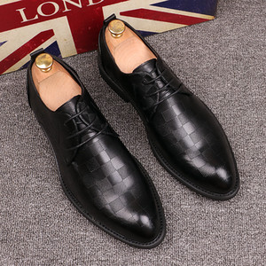 New Mens England Casual Shoes leather Formal shoes Comfortable Pointed Toe Loafers Man Dressing Flats Party Leisure