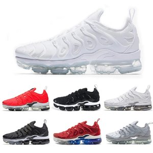 Wholesale White TN Plus Running shoes Men Sneakers Game Royal orange USA Tangerine mint Grape Volt Hyper Violet trainers Sports Shoes
