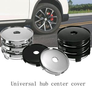 Wholesale 4Pcs Universal Wheel Center Hub Cap Plating Modified Tire Center Hole Cover Hubcaps Sticker Auto HHA51