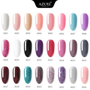 AZURE BEAUTY 28Pcs Lot Dipping Powder Set Full Color Set Dip Glitter Powder Nail Gel Kit Gradient Color Dip Powder Base Top Coat on Sale