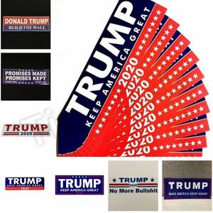 Wholesale Donald Trump 2020 Car Stickers Bumper Sticker Keep Make America Great Decal for Car Styling Vehicle Paster Novelty Items Trump Stickers 4728