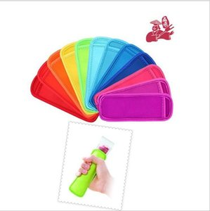 Reusable Popsicle Bags Holders Freezer Cover Ice Sleeves Antifreezing Popsicle Sleeve Ice Sticks Cover Children Anti-cold Ice Cover LJJK2019