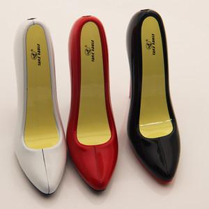 creative high heel shoes shape lighter fashion design butane gas Refillable Cigarette Lighter flame women heel cigar lihgter portable