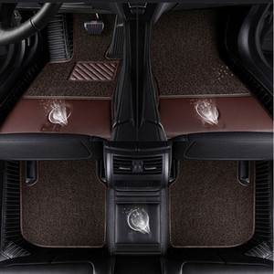 Wholesale Car floor mats for Tesla logo Model S X fit Jaguar F PACE F TYPE XF XJ XE XFL for Alfa Romeo Stelvio Giulia car styling carpet