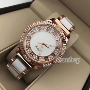 Wholesale 2018 Fashion Lucury Brand Women Watches mm Rose Gold Stainless Steel Big Band Crystal Ladies Dress Quartz Lover Wristwatch Gift Role Watch