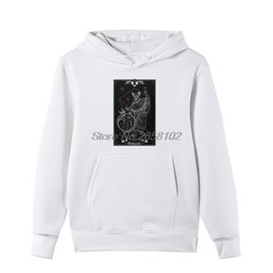 Wholesale Tarot The Magician I Inverted Funny Hoodie Men Cotton Sweatshirt Group Clothing Hoodies Classic Harajuku Streetwear
