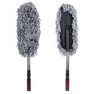Wholesale Multi Functional Microfiber Car Dust Cleaning Brushes Duster Mop Auto Duster Wax Polishing Detailing Towel