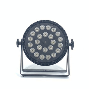 20 PZ LED Spotlight 24x18W RGBWA UV 6in1 LED Stage Light for Professional Stage Lighting RGBW 4in1