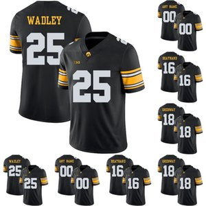 Wholesale iowa hawkeyes jerseys for sale - Group buy Iowa Hawkeyes Akrum Wadley C J Beathard Chad Greenway Marshall Koehn Noah Fant College Football Stitched Jerseys Black
