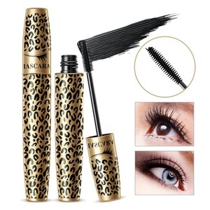Leopard Mascara Silk Thick lengthening cruling Waterproof Anti-smudge sweatproof Deep Black mascara Natural Eyes Makeup hot sale