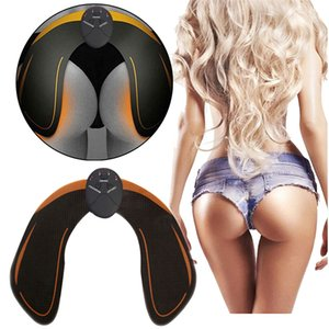 Wholesale Electric EMS Hip Massage Muscle Stimulator Trainer Anti Cellulite Rechargeable Buttock Lifting Enhancer Tone Up Massager With Retail Boxes