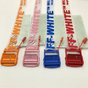 Multi Off Belts transparent Letter 120-160- 200cm Long Belt for Women Luxury Designer Brand clear industrial Belts