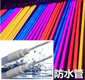Wholesale 30PCS LED T8 Tube Lamp cm cm cm cm ft ft ft ft Waterproof AC220v Fluorescent Tube For Fish Tank Freezer RGB