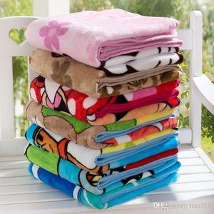 Fashion Kids Blankets Flannel duck Cat dogs bear styles Warm cartoon Blankets Smooth Blankets Baby Beddings Swaddling Blanket