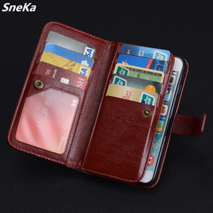 Wholesale For Huawei P9 lite P8 lite Case Luxury Wallet PU Leather Multi card Flip Phone Protective Bag Back Cover P9 P10 Lite Case
