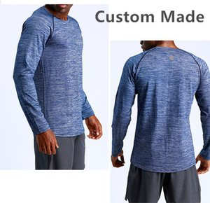 Canana Yoga Clothes Custom Made Logo Breathable Men s Designer Long Sleeve t Shirts Tee Shirts Homme Quick Drying
