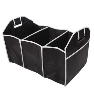 VODOOL Trunk Foldable Collapsible Auto Car Rear Rack Organizer Food Tools Truck Cargo Container Storage Bags Box