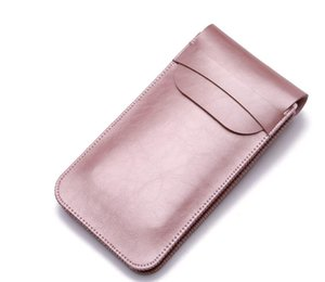 Wholesale 6 quot FSSOBOTLUN For Xiaomi Mi max Max2 Case Microfiber Leather Double cell phone Waist Pack sleeve bag Cover Pouch