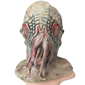Party Mask Halloween Horror Octopus Animal Headgear Monster Alien Halloween Cosplay Dress Up Props Holiday Party Supplies SH190922
