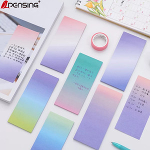 Kawaii stationery sticky notes cute papeleria memo pad for office decoration to do list sticky notes material escolar