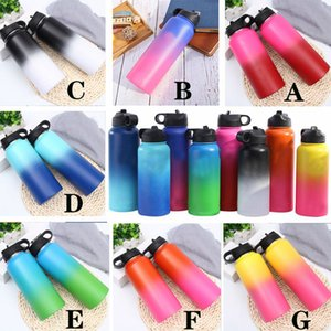 Wholesale 18oz oz oz hydro double wall vacuum flask insulated stainless steel Mouth Water Bottle Multiple Sizes sport bottle waters custom