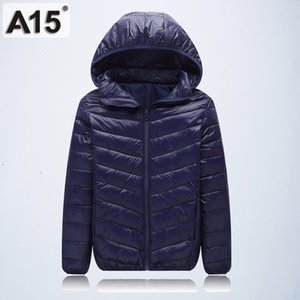 Wholesale A15 Children Outerwear Warm Coat Girl Jacket Spring Autumn Winter Hooded Toddler Teenage Jackets for Boys Age Y V191203
