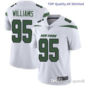 Mens Le'Veon Bell Jersey Jamal Adams Sam Darnold CJ. Mosley Quinnen Williams Jets Joe Namathcustom american football jerseys all stitch