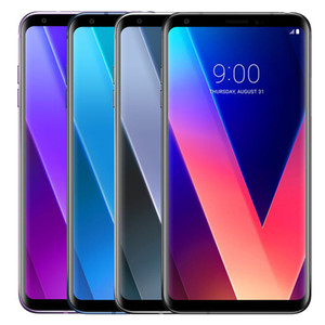 Refurbished Original LG V30+ V30 Plus H930DS 6.0 inch Dual SIM Octa Core 4GB RAM 128GB ROM 16MP&13MP 4G LTE Unlocked Smart Phone DHL 1pcs