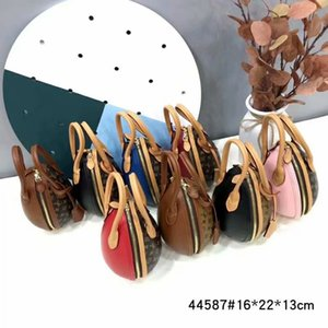 Wholesale high quality new style fashion leather letter bag women chain Shoulder bags purse oval Handbags evening bag