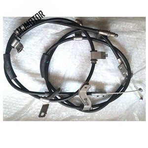 2pcs Pair Parking brake cables for Chinese SAIC ROEWE MG3 Auto car motor parts 10133286 on Sale