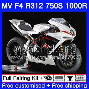 Wholesale fairing agusta for sale - Group buy Bodywork For MV Agusta F4 R312 S R CC kit HM R MA MV F4 Pearl White hot Fairing