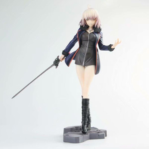Wholesale Fate stay night Saber Anime Fate Grand Order black Jeanne d A Action Figures toys Anime figure Toys For Kids children Christmas