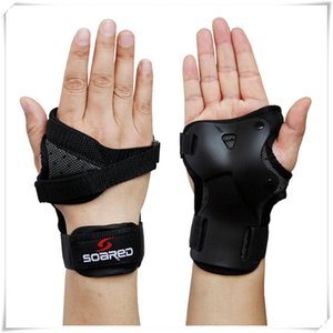 Wholesale Adjustable Snowboard Ski Protective Gear Glove Lengthened Wrist Roller Skating Palm Care Gauntlets Support Guard Pad Brace hand guard