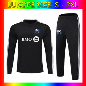 Wholesale Men s Montreal Impact Team Training Long Sleeve Jersey Montreal Impact football tracksuit Montreal Impact Soccer Sets