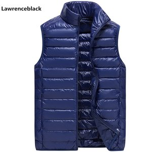 Brand men's vest Large Size 3XL Ultra Light Down Vest men Plus Duck Down Sleeveless male Casual Lightweight Waterproof Coat Male on Sale