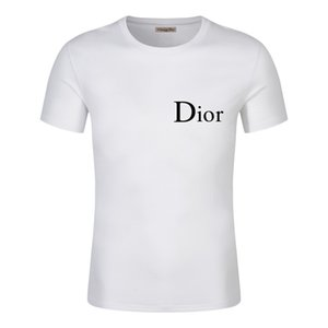 Casual T-shirt Mens Clothing Summer Shirt Black White Size