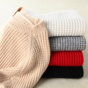 Wholesale kernel corn for sale - Group buy Long Cashmere Kintted Sweater Women Oversized Winter Sweater Pullover Female Plus Size Jumper Pull Femme Tops With Corn Kernels