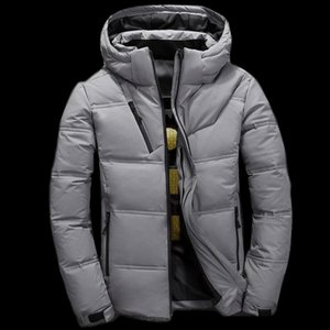 Wholesale Fashion Winter Men Parka Outerwear High Quality White Duck Thick Down Jacket men coat Snow parkas male Warm Brand Coat