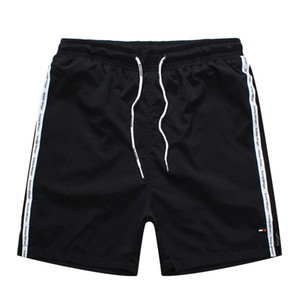 371f7ee1db High-quality men's casual shorts solid color board shorts men's summer  style Bermuda chunse swimming shorts men's sports