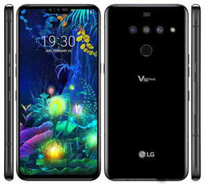 "Refurbished LG V50 ThinQ V500N Unlocked Cell Phone Octa Core 6GB 128GB 6.4"" Triple Cameras 16MP 5G"