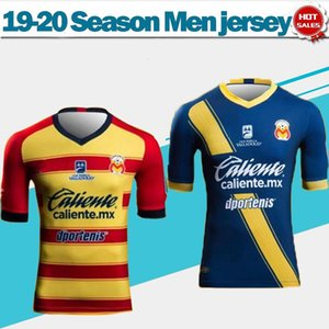 Wholesale 2020 Club Atlético Monarcas Morelia home red yellow Soccer Jersey Men blue yellow Soccer Shirts football uniforms do not print